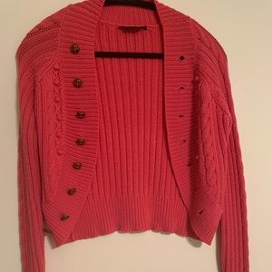 Cable knit BCBG Maxizaria sweater